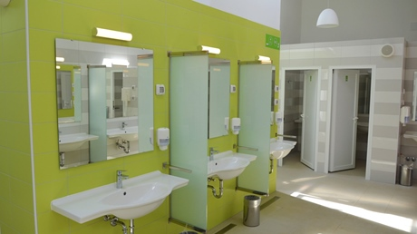 New sanitary facilities in Slatina and Bijar